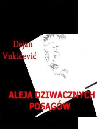 Okładka książki Aleja Dziwacznych posągów