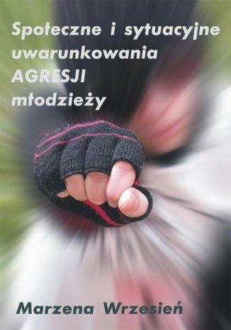 Okładka książki Społeczne i sytuacyjne uwarunkowania agresji młodzieży