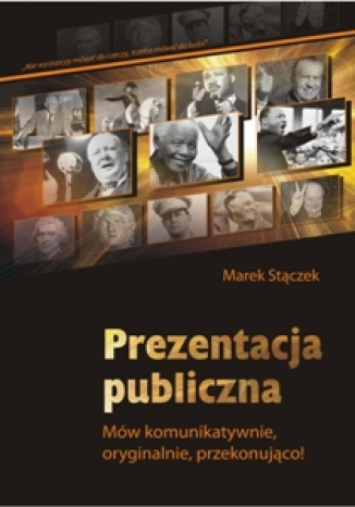Okładka książki Prezentacja publiczna