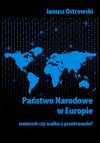 Okładka książki Państwo narodowe w Europie. Zmierzch czy walka o przetrwanie?