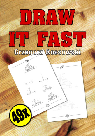Okładka książki Draw it fast!