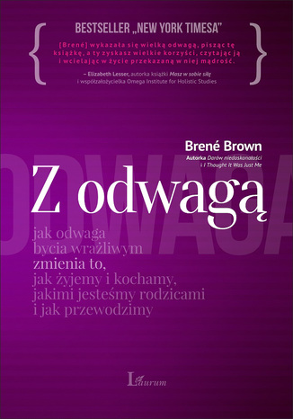 Okładka książki/ebooka Z wielką odwagą