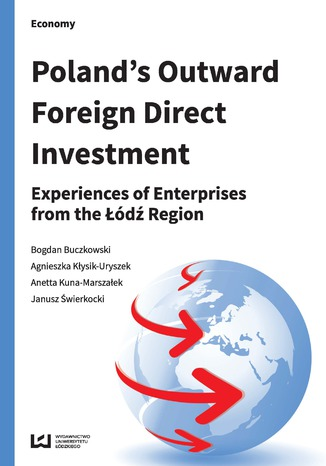 Okładka książki Poland's Outward Foreign Direct Investment. Experiences of Enterprises from the Łódź Region