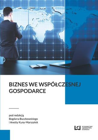 Okładka książki/ebooka Biznes we współczesnej gospodarce