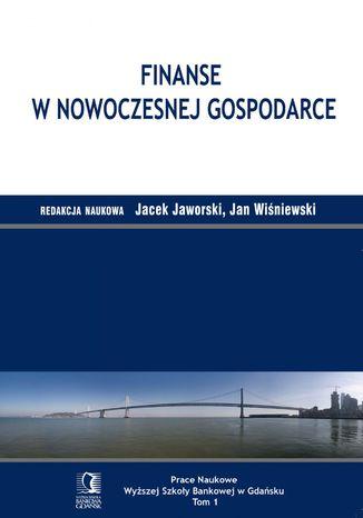 Okładka książki Finanse w nowoczesnej gospodarce