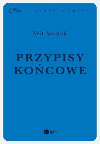 Okładka książki/ebooka Przypisy końcowe