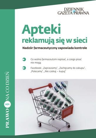 Okładka książki Apteki reklamują się w sieci