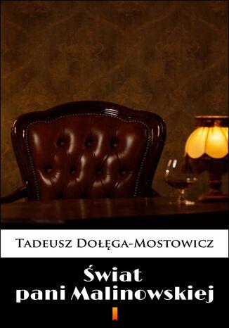 Okładka książki Świat pani Malinowskiej