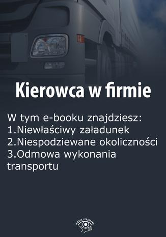 Kierowca w firmie, wydanie marzec 2016 r