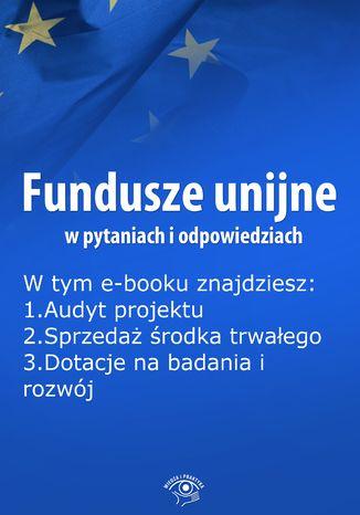 Fundusze unijne w pytaniach i odpowiedziach, wydanie czerwiec 2016 r