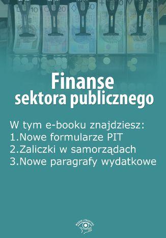 Finanse sektora publicznego, wydanie kwiecień 2016 r