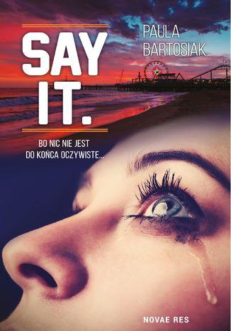 Okładka książki Say it