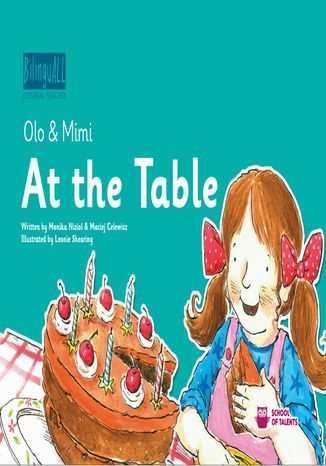 Okładka książki At the Table. Nauka angielskiego dla dzieci 2-7 lat