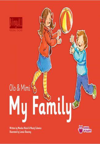 Okładka książki/ebooka My Family. Nauka angielskiego dla dzieci 2-7 lat