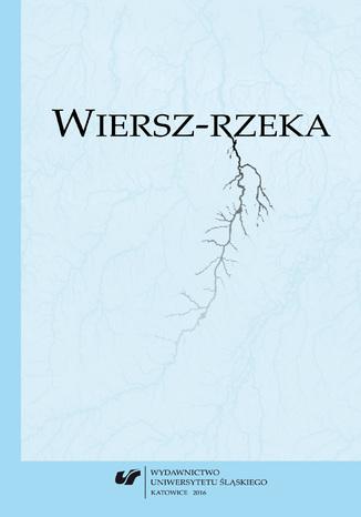 Okładka książki Wiersz-rzeka