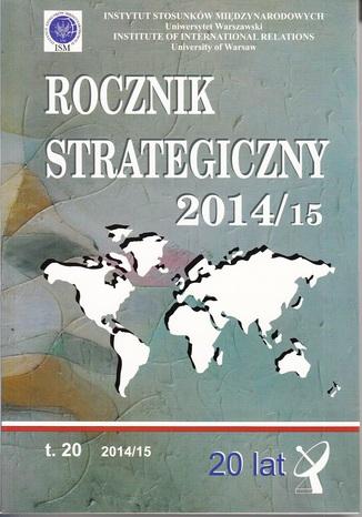 Okładka książki Rocznik Strategiczny 2014/15