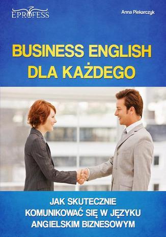 Okładka książki/ebooka Business English dla Każdego