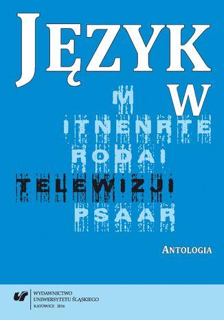 Okładka książki Język w telewizji. Antologia