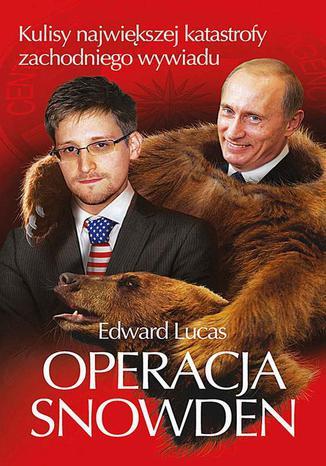 Okładka książki Operacja Snowden
