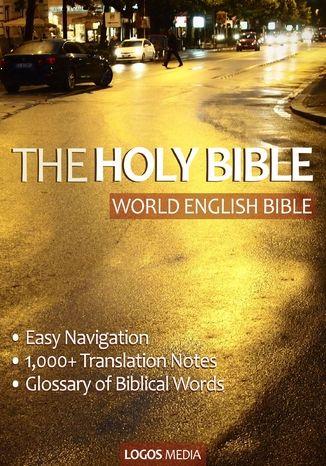 Okładka książki The Holy Bible (Biblia w języku angielskim)