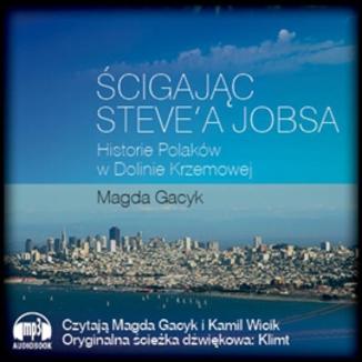 Okładka książki Ścigając Steve'a Jobsa