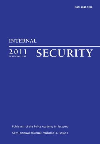Okładka książki Internal Security, January-June 2011