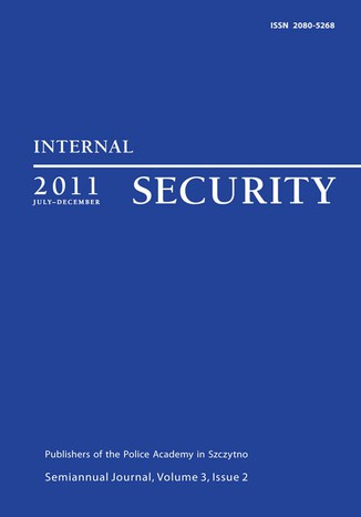 Okładka książki/ebooka Internal Security, July-December 2011