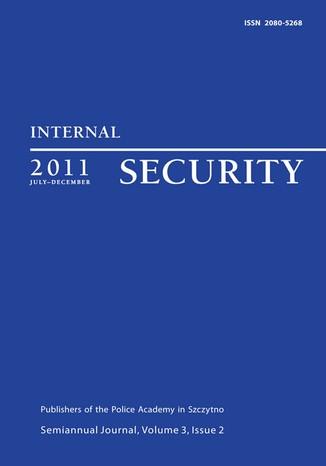 Okładka książki Internal Security, July-December 2011