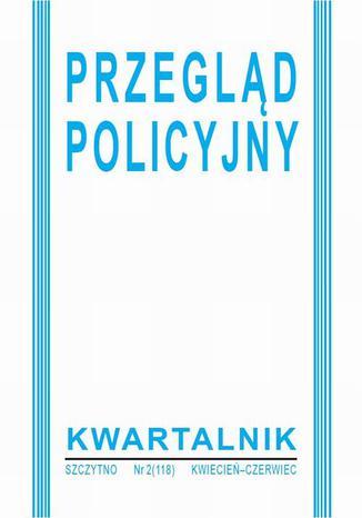 Okładka książki Przegląd Policyjny, nr 2(118) 2015