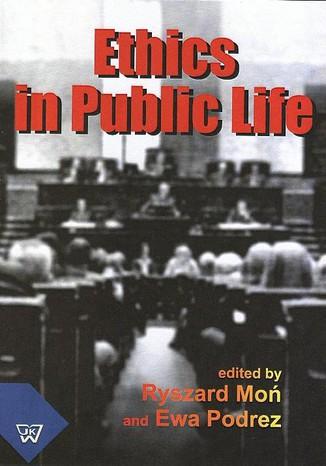 Okładka książki/ebooka Ethics In Public Life