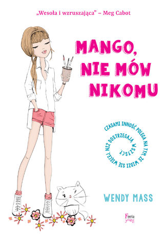 Okładka książki Mango, nie mów nikomu