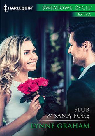 Okładka książki Ślub w samą porę