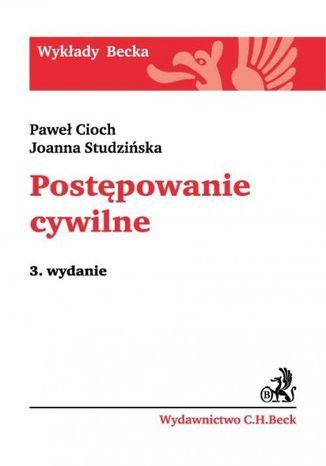 Okładka książki/ebooka Postępowanie cywilne. Wydanie 3