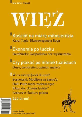 Okładka książki Więź 2/2016