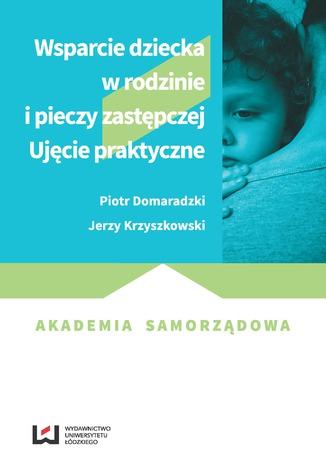 Okładka książki Wsparcie dziecka w rodzinie i pieczy zastępczej. Ujęcie praktyczne