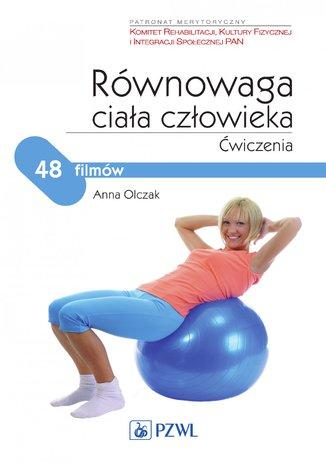 Okładka książki Równowaga ciała człowieka. Ćwiczenia