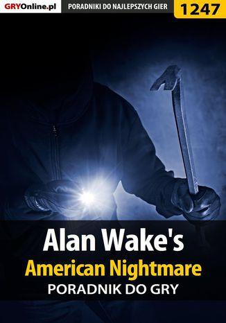 Okładka książki Alan Wake's American Nightmare - poradnik do gry
