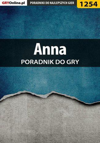 Okładka książki Anna - poradnik do gry