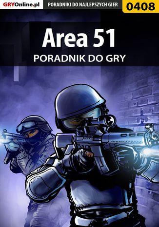 Okładka książki/ebooka Area 51 - poradnik do gry