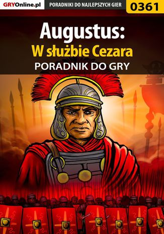 Okładka książki Augustus: W służbie Cezara - poradnik do gry