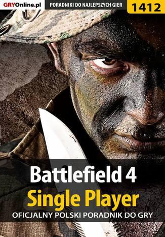 Okładka książki Battlefield 4 - poradnik do gry