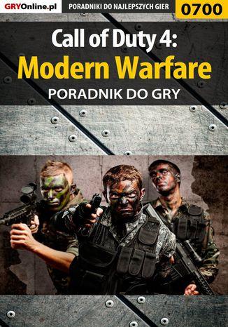 Okładka książki Call of Duty 4: Modern Warfare - poradnik do gry