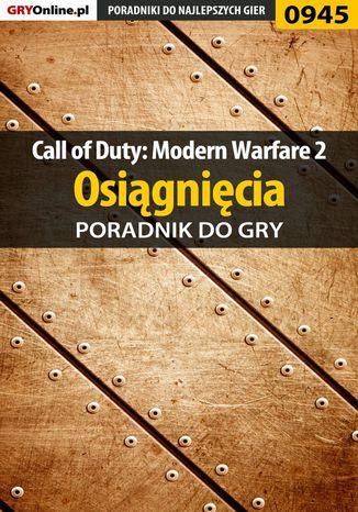 Okładka książki Call of Duty: Modern Warfare 2 - osiągnięcia - poradnik do gry