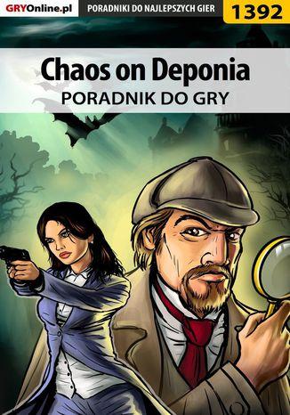 Okładka książki/ebooka Chaos on Deponia - poradnik do gry