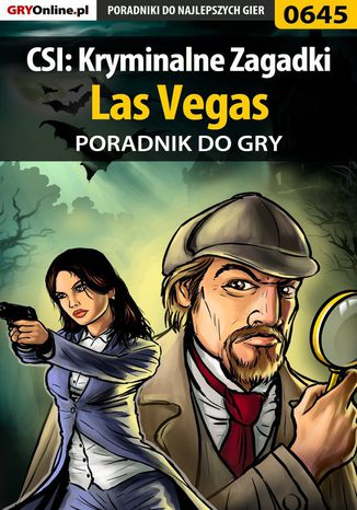Okładka książki CSI: Kryminalne Zagadki Las Vegas - poradnik do gry