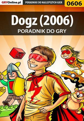 Okładka książki Dogz (2006) - poradnik do gry