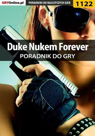 Okładka książki Duke Nukem Forever - poradnik do gry