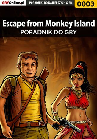 Okładka książki/ebooka Escape from Monkey Island - poradnik do gry