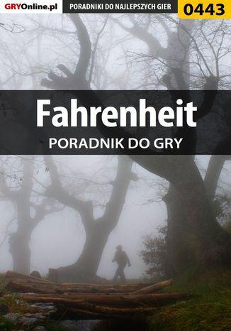 Okładka książki Fahrenheit - poradnik do gry
