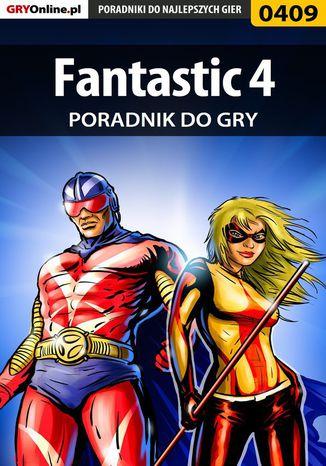 Okładka książki Fantastic 4 - poradnik do gry